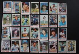 1982 Topps Texas Rangers Team Set of 29 Baseball Cards - $7.00