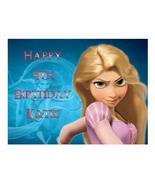Tangled Princess Rapunzel Edible Cake Image Cake Topper - $8.98+