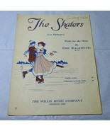 Vintage The Skaters Les Patineurs Waltz for the Piano Emil Waldteufe She... - $5.93
