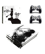 PS4 Pro Console Dualshock Skin Anime Kingdom Hearts Vinyl Decal Sticker ... - $12.00