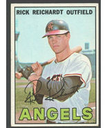 California Angels Rick Reichardt 1967 Topps Baseball Card #40 ex - $0.99