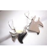 Angel Fish Earrings 925 Sterling Silver Dangle Corona Sun Jewelry Vacati... - $13.85