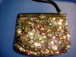 Victoria Secret Sequin Bag - $5.00