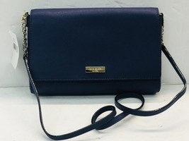 Kate Spade New York Tilden Place Alek Leather Crossbody Handbag in Sapphire - £116.68 GBP