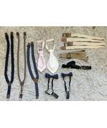 11 Piece Kids Ties, Bow Ties, Suspenders And Belts Bundle Set - $14.18