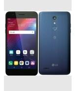 Unlocked LG Xpression Plus 16GB Prepaid Smartphone, Blue - $119.99