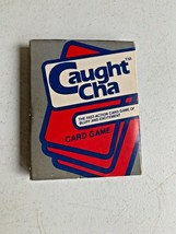 Caught-Cha 1987 Card Game Cards are Sealed Vintage  - $14.99