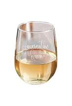 Quarantine Queen Stemless Wine Glass Essential- 15 oz - $33.20