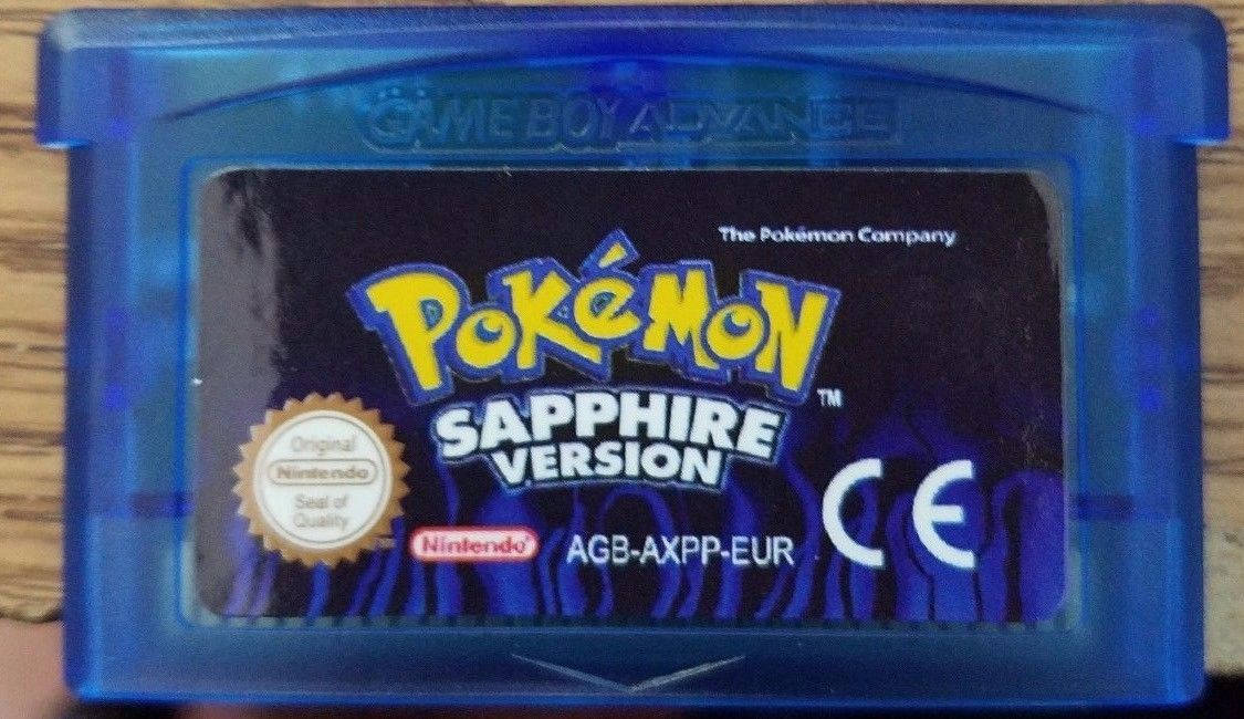 Primary image for Pokemon Sapphire English Custom Game Boy Advance GBA