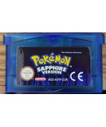 Pokemon Sapphire English Custom Game Boy Advance GBA - $8.75