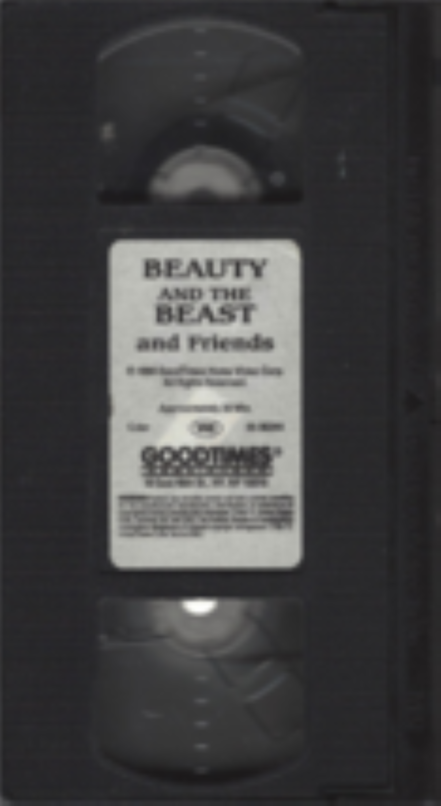 Beauty and the Beast and Friends Vhs