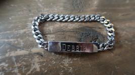 "Vintage SPEIDEL Rhodium Electroplate DEBBIE Bracelet 6.75"" - $19.79"