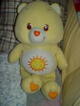 "Funshine Yellow Large Care Bear 2003  25"" Tall - $19.00"
