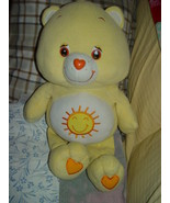 "Funshine Yellow Large Care Bear 2003  25"" Tall - $19.00"