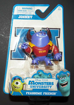 NEW Johnny Monsters University Fearsome Friends Disney Pixar PVC Figure Cake Top - $11.83
