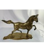 "Brass Horse Stallion Statue Figure 8"" - $29.95"