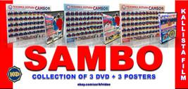 Sambo Wrestling(3 POSTERS) + 3 DVD. - $43.98