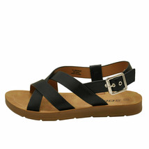 Soda GALAXY-S Black Women's Criss Cross Slingback Sandals - $22.95+