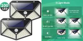 Lampe Solaire Extérieur 100 led, Kilponen 2 Pack éclairage Détecteur de...  - $43.84