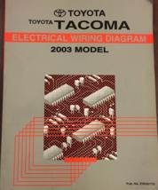 2003 Toyota TACOMA Electrical Wiring Diagram Manual EWD ETM Factory OEM  - $44.50