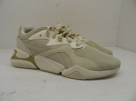 Puma Women's Low Athletic Lace Up Casual Shoe Beige/Off White Size 7.5M - $37.99