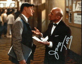 James Tolkan signed color photo. Nice !! !Back To The Future. Top Gun.. - $39.95