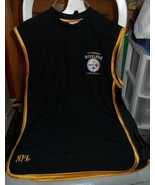 Men's size Medium. Pittsburgh Steeler black short sleeve muscle shirt - $18.00