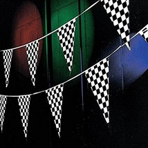 Tytroy Racing Pennant Banners Checkered - ₨1,006.07 INR