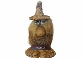 Hillbilly Figurine Furry Fuzzy Troll Bigfoot Big feet Wooden Redneck gif... - $28.98