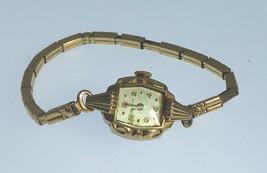 Vintage Bulova Wristwatch Fancy Ladies Watch Runs & Stops L2 1952 - $15.00