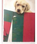 """Labrador Dog Print """"No Assembly Required"""" 1997 Limited Bullas - $34.65"""