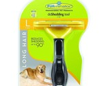 New FURminator Long Hair deShedding Tool Large for Dogs