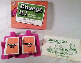 Vintage 1972 Whitman Card Game Charge It The Family Credit Card Game Complete - $27.08
