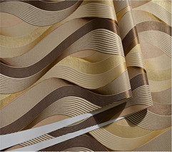 Beibehang Modern simple 3D stereo abstract arc bedroom living room hotel wallpap - $69.95