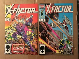 X-Factor #2 & 3 1986 Marvel Comic Book Lot VF/VF Condition X-MEN / CABLE - $5.45