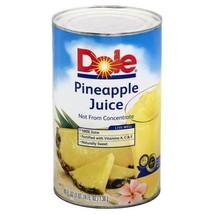 Dole Pineapple Juice - 5 Bottles----Each Bottle Is 1 X(1.36LT) - $33.06