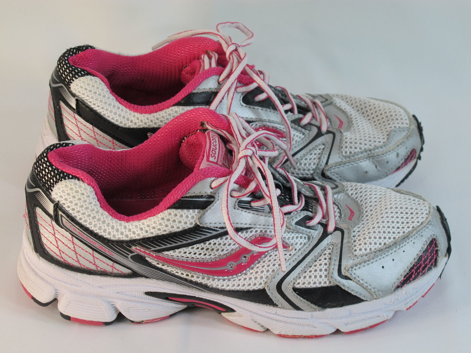 buy popular 98187 968f4 Saucony Grid Cohesion 5 Running Shoes Girls and 50 similar items