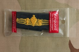 COVERALL Vanguard NAVY EMBROIDERED BADGE SURFACE WARFARE SUPPLY OFFICER