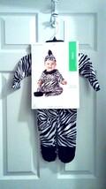 NEW ZEBRA  Halloween 2 Piece Costume  Infant 6-12 Mo. Complete- Very CUTE - $14.52