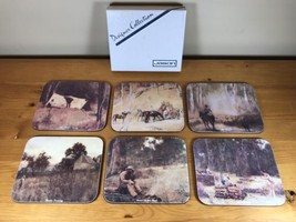 Jason Designer Collection Coaster Set Of 6 Aust... - $20.99