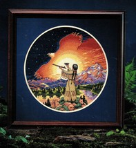 Dimension Ceremony of the New Day Native American Southwest Cross Stitch... - $13.99