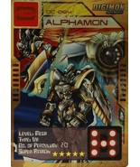 Bandai Digimon S1 D-CYBER Collect Card Game Alphamon C - $10.99