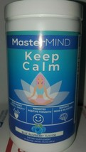 Keep Calm by Mastermind W/Magnesium & L-Theanine Blue Raspberry Flavor 0... - $18.87