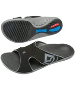 Spenco Polysorb Total Support Kholo Sandals, Black/Pewter, Men's 7 - $39.19