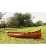 "31.5"" x 187.5"" x 24"" Wooden Canoe - $4,762.92"