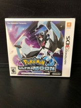 Pokemon Ultra Moon Nintendo 3DS 2017 Video Game New Factory Sealed - $39.99