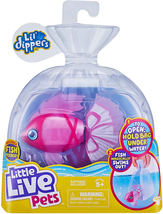 Dippers Fish Magical Water Activated Unboxing And Interactive Feeding Ex... - $13.20