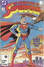The Adventures of Superman Comic Book #424 DC Comics 1987 FINE+ UNREAD - $6.89