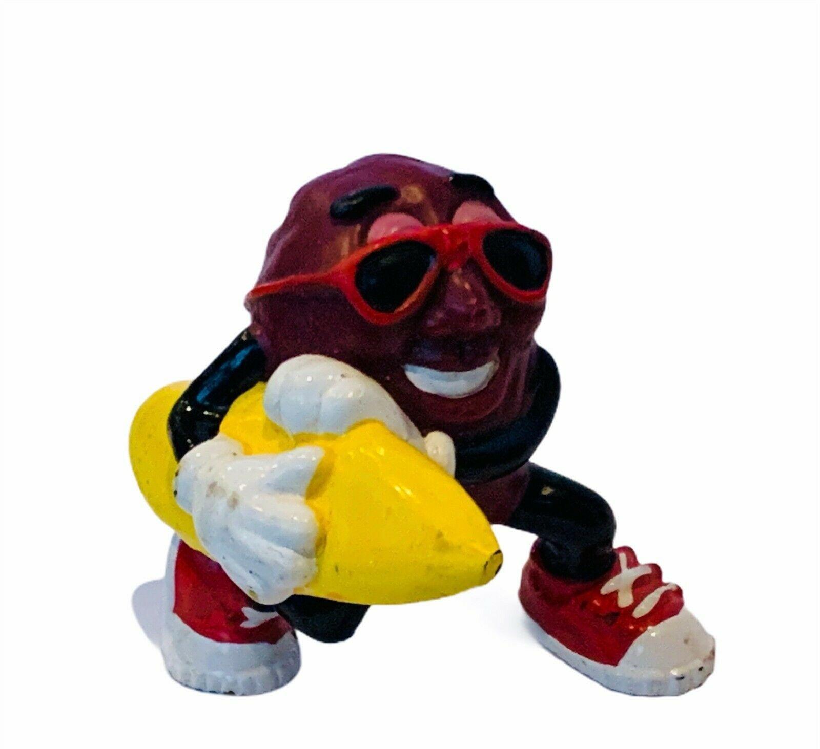 California Raisins figure applause calrab TM anthropomorphic vtg toy surf board - $16.40