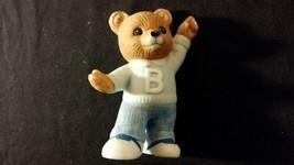 "Dancing Teddy Bear Porcelain Figurine ""Dancing B Bear"" HOMCO - $10.00"